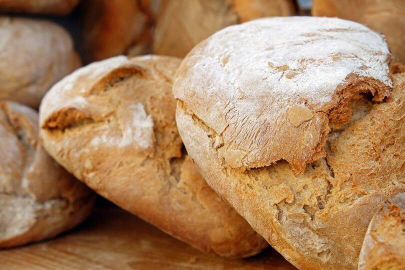 טיפים לחם חי או לחם קלוי ? קלוריות